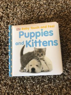 Baby touch and Feel Puppies and Kittens