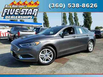 New 2018 Ford Fusion FWD