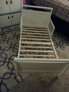 Toddler Bed (white in color) Taking Offers
