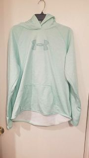 Under Armour brand hooded sweatshirt, woman's size XL