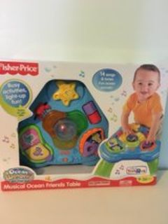 Fisher Price musical ocean friends table
