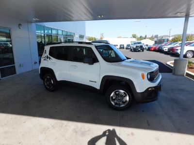 2018 Jeep Renegade SPORT (Alpine White)