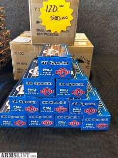 For Sale: PPU 38 spl. 50rds ONLY $11.99