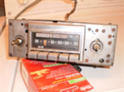 Parts For Sale: Oem 1972-1976 Corvette Delco Am/fm Stereo Gm Radio RARE