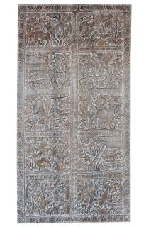 ANNUAL CLEARANCE SALE!!Vintage Wall Hanging Tribal Schedule Carved Ancient Wall Decor
