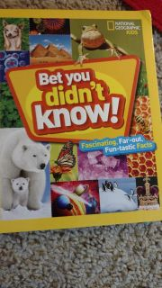 National Geographic Kids Bet you didn't know. #Holiday Special