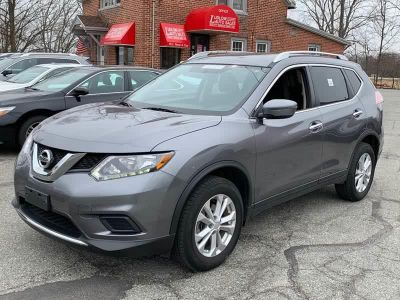 2016 Nissan Rogue SV AWD 4dr Crossover (Gun Metallic Gray)
