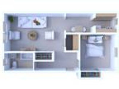 Museum Walk Apartments - One BR Floor Plan A1