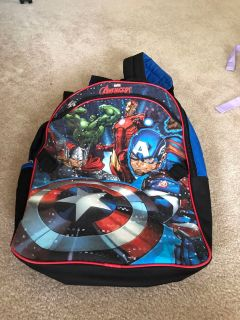Excellent condition avengers backpack