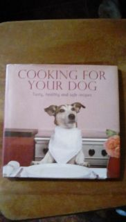 Cooking for your dog cookbook