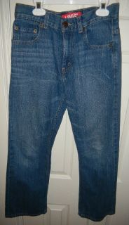 Youth Boys Levis 527 Bootcut Blue Jeans 14 Regular 27X27