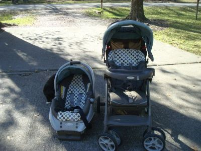 Stroller and Car Seat with base