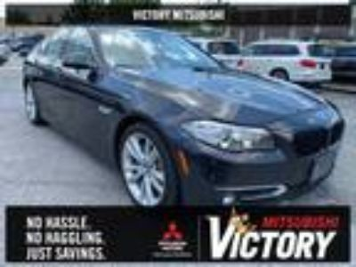 Used 2016 BMW 5 Series Mineral Gray Metallic, 51.8K miles