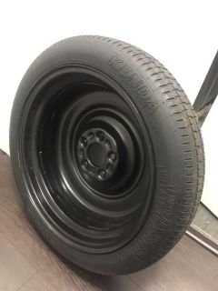 Spare Tire with Tools