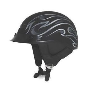 Buy Zox Alto Custom Flame Helmet Matte Black motorcycle in Holland, Michigan, United States, for US $62.76