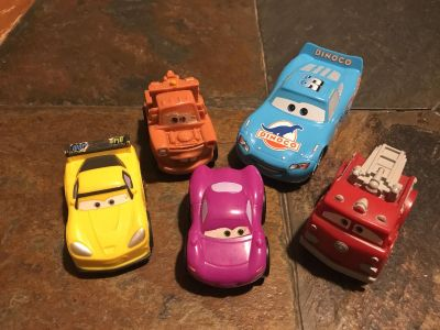 Plastic chunky lightweight toddler cars