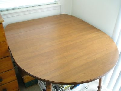 DROP LEAF KITCHEN DINING TABLE