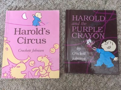 Harold and the Purple Crayon Books