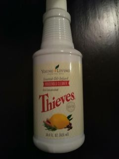 New Thieves household cleaner young living essential oil