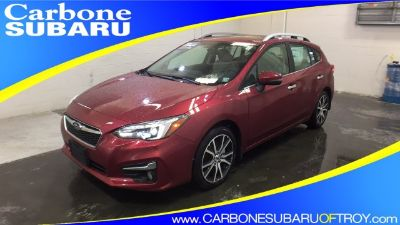2018 Subaru Impreza Limited (Crimson Red Pearl)