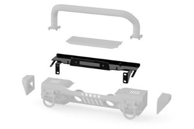 Find Rugged Ridge 11541.13 - 07-13 Jeep Wrangler Front XHD Winch Plate for XHD Bumper motorcycle in Suwanee, Georgia, US, for US $199.99