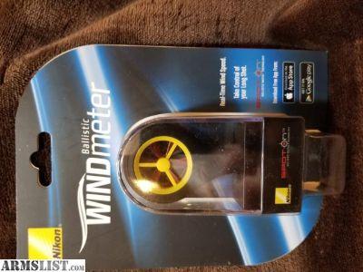 For Sale: Nikon Spot On Wind Meter