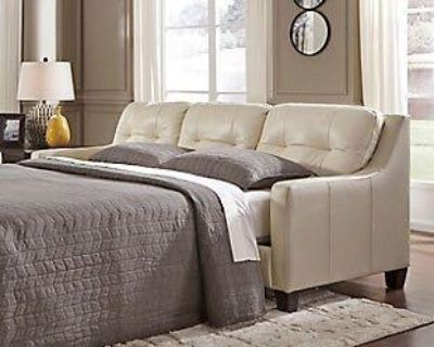 Iso Sleeper Sofa with a thick mattress