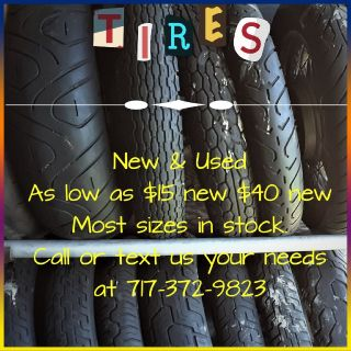Tires New and Used