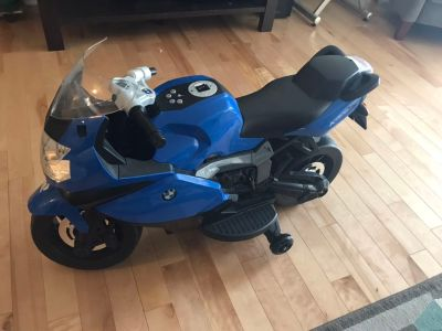 Electric BMW motorcycle