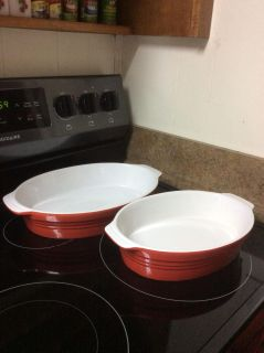 Two Oval Cooks Tools Bakeware