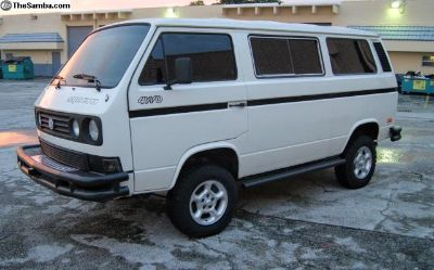 1987 Syncro Tin Top with Country Homes conversion