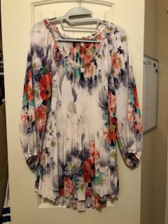Floral lovely Flowing Blouse