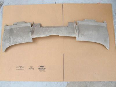 Purchase 65-66 Corvette GM ORIGINAL GREY SIDE EXHAUST REAR VALANCE #3E NOS motorcycle in San Diego, California, US, for US $1,050.00
