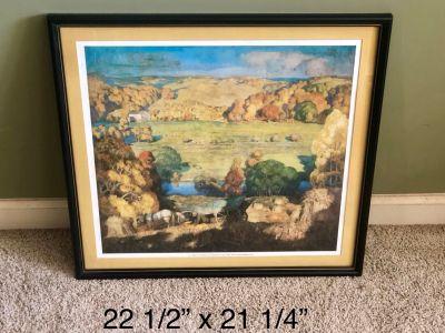 Artwork by N.C. Wyeth