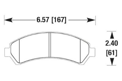 Find HAWK HB304Z.598 - 2004 Chevy S-10 Front Brake Pads Ceramic motorcycle in Chino, California, US, for US $80.63