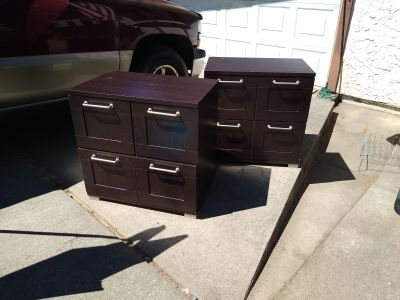 Office credenzas $15 each or both for $25