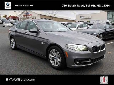 Used 2015 BMW 5 Series 4dr Sdn AWD