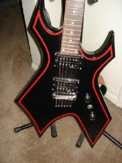 $400 OBO BC Rich Warlock Electric Guitar, Amp, How to Books, Cables