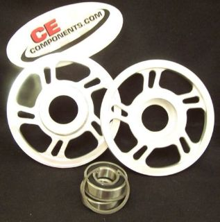 "Purchase Billet 6"" upper idler Wheels for 08 ans up Skidoo snowmobile motorcycle in Eagle, Idaho, United States, for US $85.95"