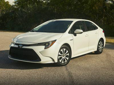 2020 Toyota COROLLA HYBRID LE (Super White)