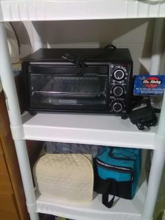 Toaster oven black and decker