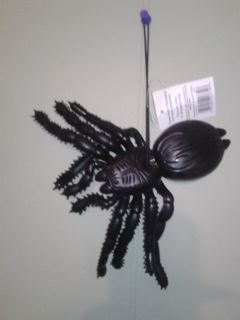 Hanging rubber spider nwt