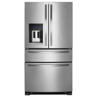 Whirlpool Stainless Steel French 4 Door Refrigerator WRX735SDBM