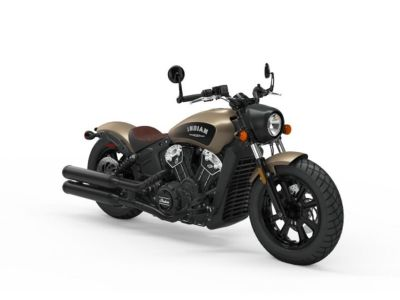 2019 Indian Motorcycle Scout Bobber Icon Series Deep Brass Smoke