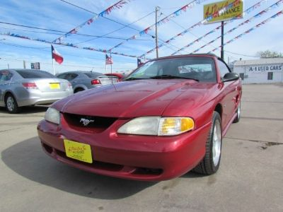 1996 FORD MUSTANG GT GT CONVERTIBLE