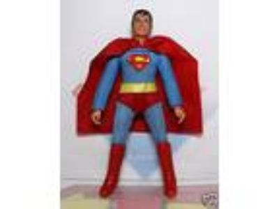 "1972 Mego WGSH 8"" Type 1 Action Figure- Superman"