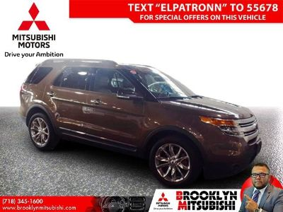 2015 Ford Explorer XLT (Caribou Metallic)