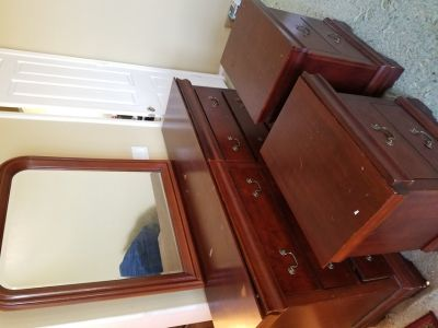 Dresser with Night Stands