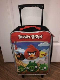 Angry Birds Small Suit Case EUC $10