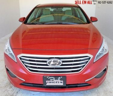 2017 Hyundai Sonata Base (Red)